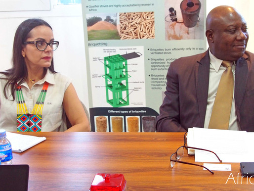 Ambassador of Venezuela in Benin, accompanied by FAO and ADERIZ representatives, visit AfricaRice