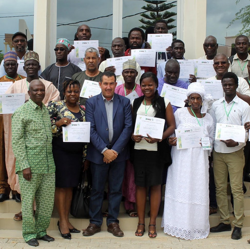 Seed enterprises from 8 African countries trained in hybrid rice seed production