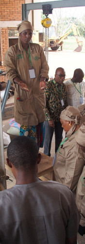 AfricaRice and CNRA strengthen capacity