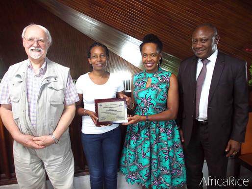AfricaRice Dr Robert Carsky Award for 2018