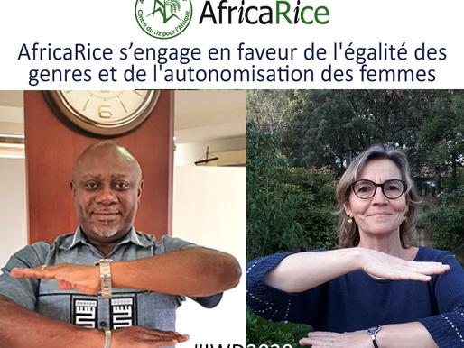 AfricaRice réaffirme son engagement en faveur de l'égalité des genres pour la Journée de la femme