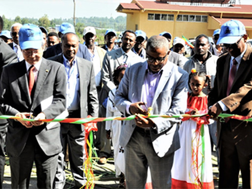 National Rice Research and Training Center in Ethiopia Inaugurated