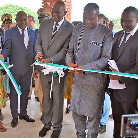 AfricaRice inaugurates the Rice Biodiversity Center for Africa