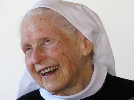 Um ano da Páscoa de Madre Maria Chantal, OSB.
