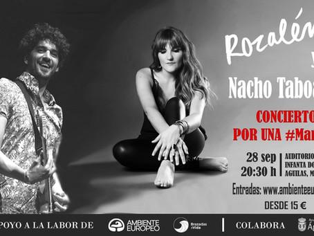 Concierto por una #MarSana - Rozalén y Nacho Taboada
