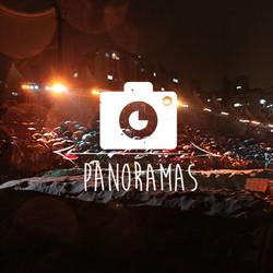panoramas, fotografias, encenação