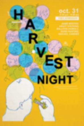 Harvest Night 2019 Flyer