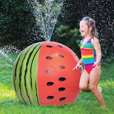 Three outrageously fun inflatable sprinklers!