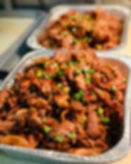 Teriyaki Pork Catering Tray