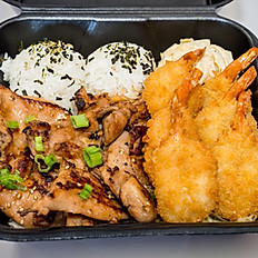 Ali'i Teri Chicken and Shrimp