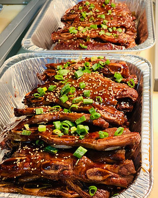 Teriyaki Beef Catering Tray