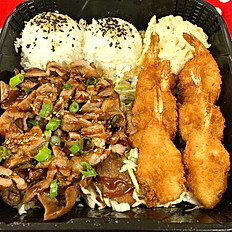 Ali'i Teri Pork and Shrimp