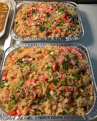 Fried Rice Catering Tray