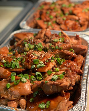 Teriyaki Chicken Catering Tray