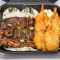 Ali'i Teri Beef and Shrimp