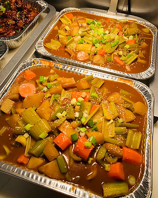 Vegetable Curry Catering Tray