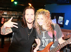 """With Sean McNabb on set of """"Rock Story"""""""