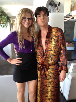 """On set of """"Not Another Celebrity Movie"""""""