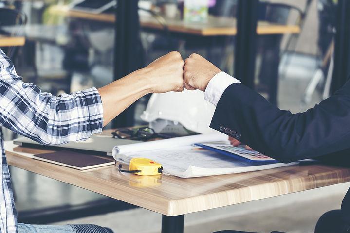 Partner Business Trust Teamwork Partners