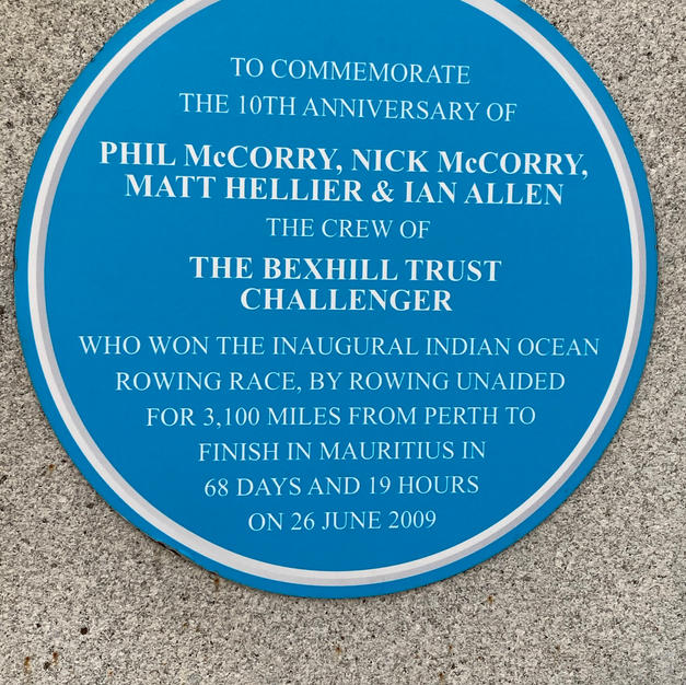 An amazing feat! But, who sees the commemoration to it?