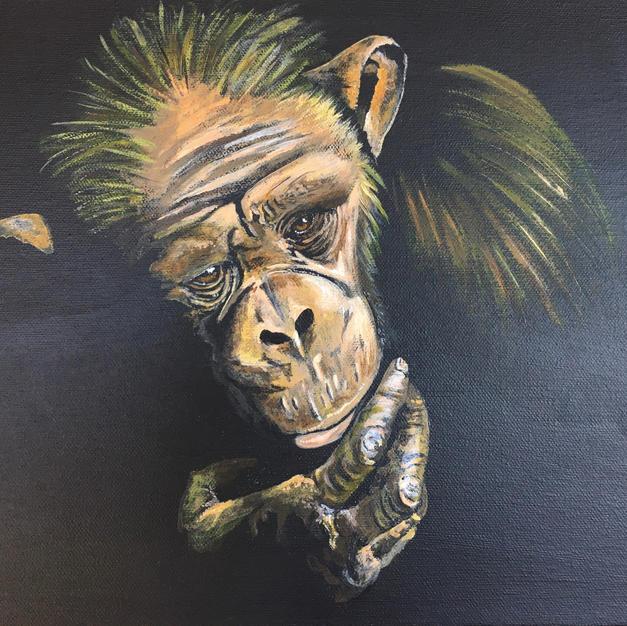 The Thinker Acrylic