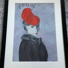 Lady in a Red Hat