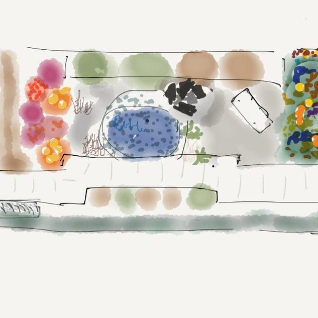 bens garden design. Neil Buchanan