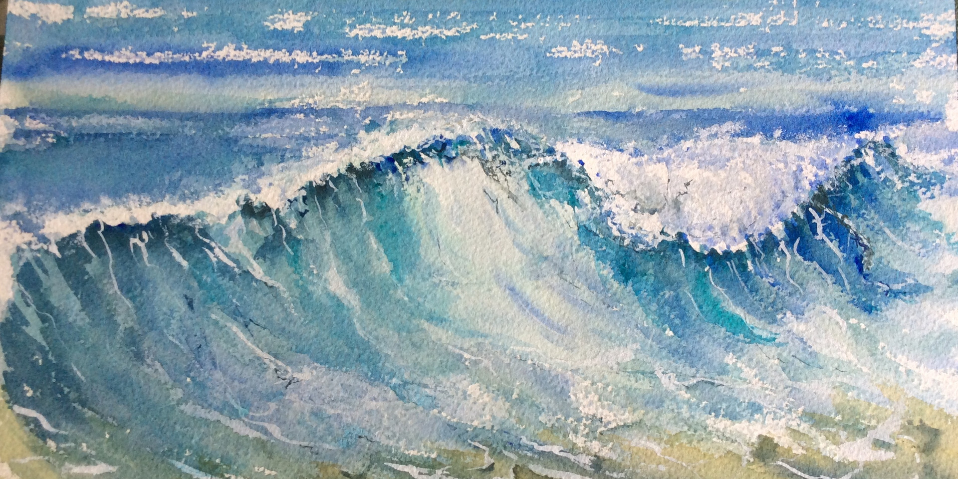 Cascading waves