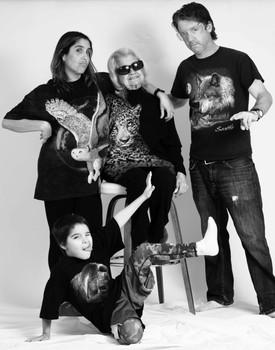 Wild family portrait