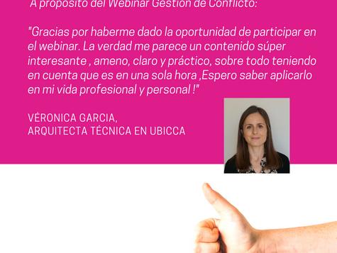 Testimonio Veronica Garcia sobre Patricia Soler