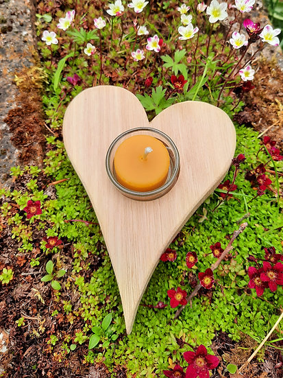 "Holzherz ""bee heartly"""