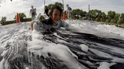 Foam Fest Slide