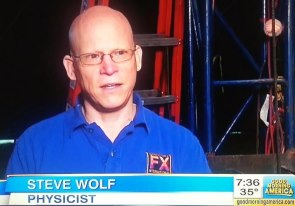 Steve Wolf on Good Morning America