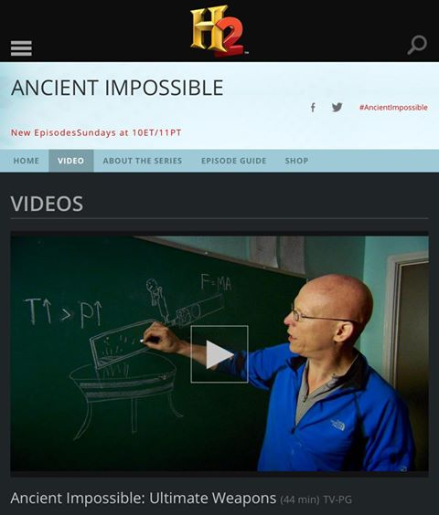 H2 Ancient Impossible Episode