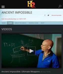 H2 Ancient Impossible Episode