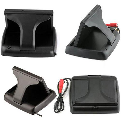 foldable reverse camera rear view screen