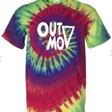 Out MOV T-Shirt Pride Tie Dyed