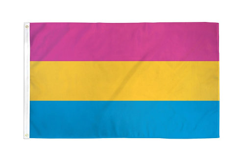 PANSEXUAL Flag 3x5ft