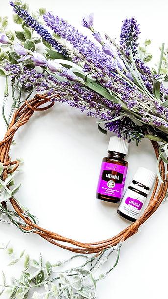 lavendar 2. young living essential oil .