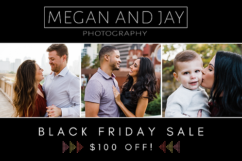 Full Portrait Session Gift Certificate