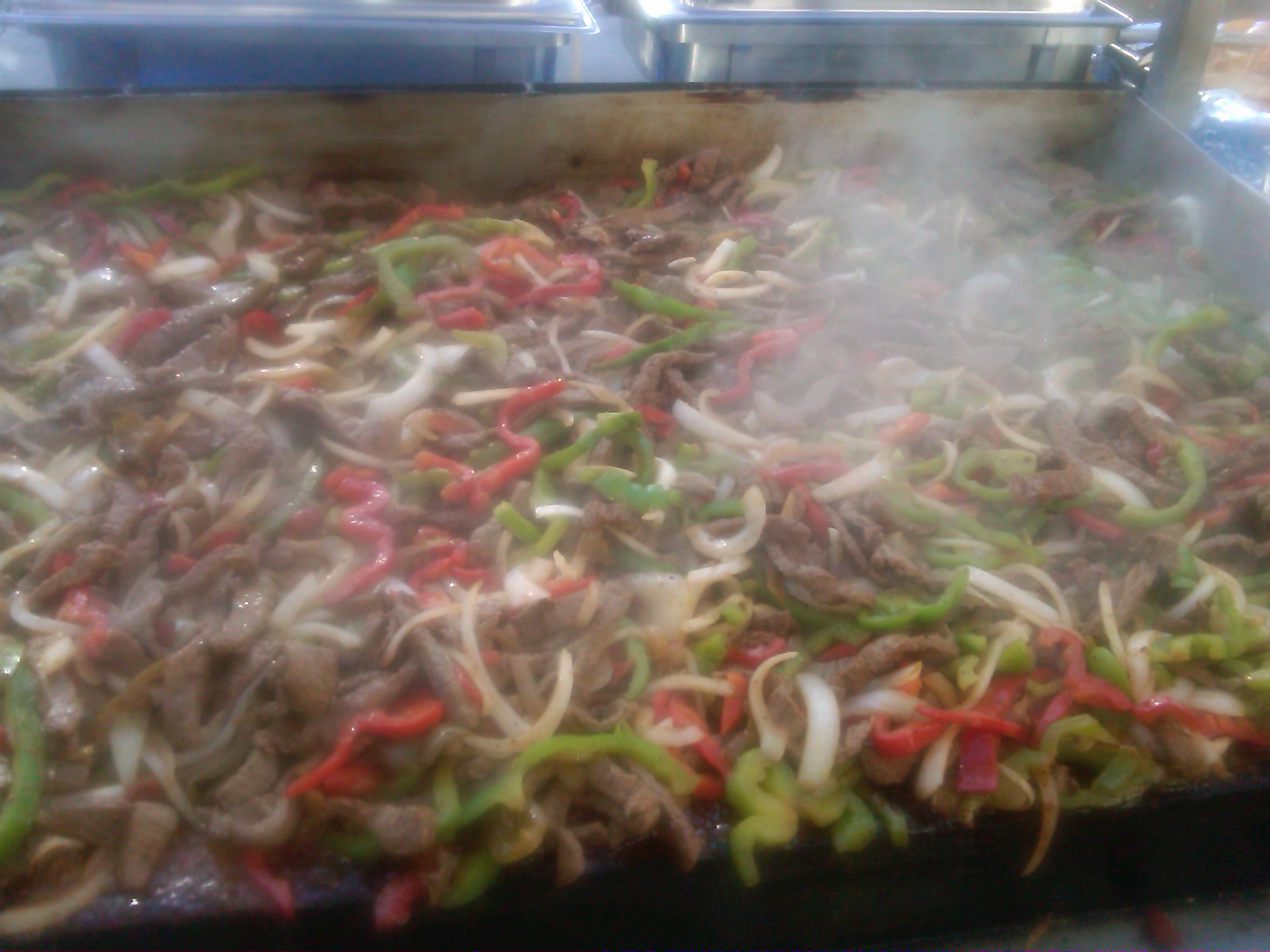 Steaming up Fajitas