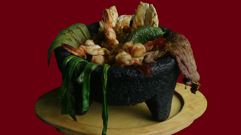Our Famous Molcajete
