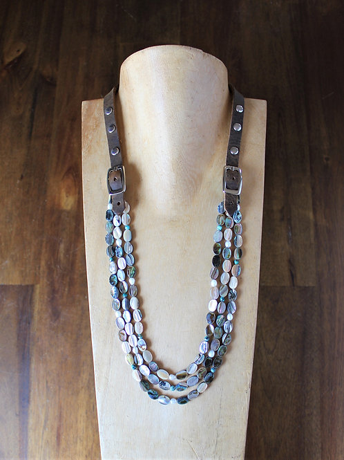 Abalone Bridle Necklace
