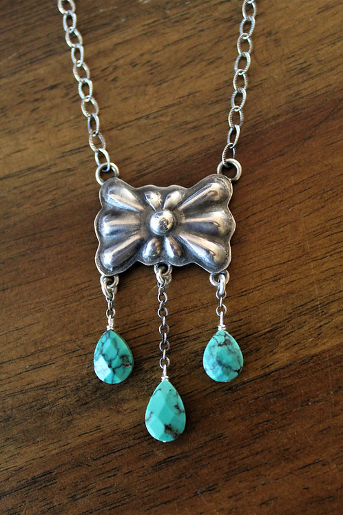Butterfly Concho Necklace