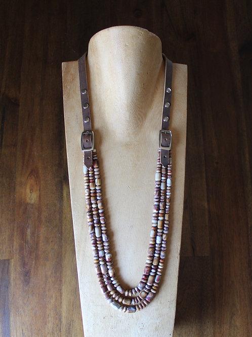 Agate Bridle Necklace