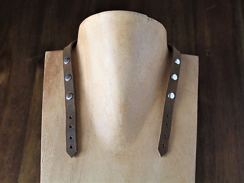 Brown Bridle Necklace Extension