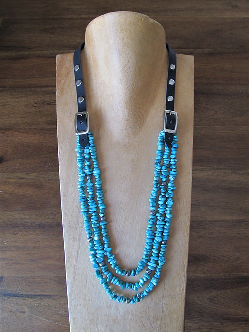 Turquoise Bridle Necklace