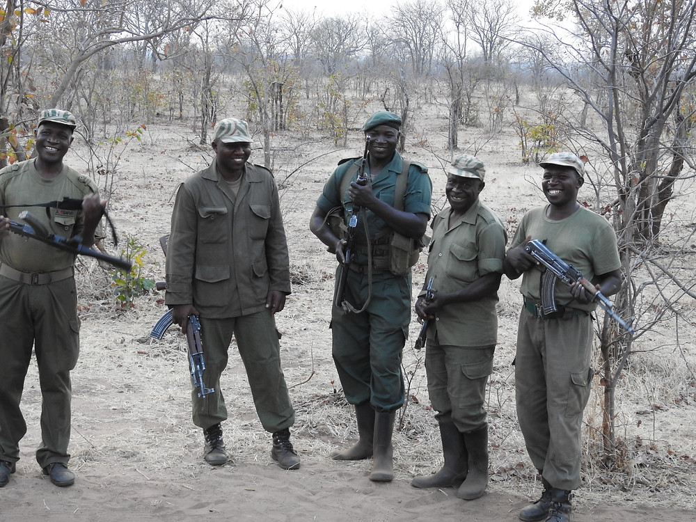 Zambia's Rhino Anti-poaching unit - photo by Kris Kubly
