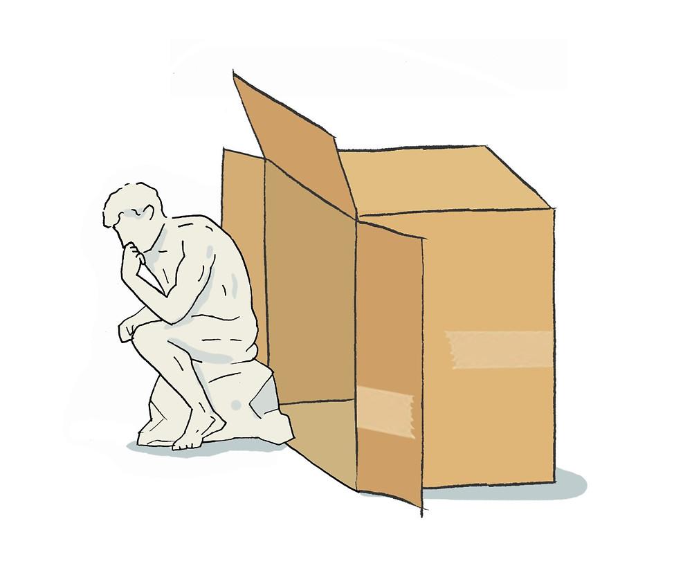 ספר פתגמים , פתגמים וניבים , חשיבה מחוץ לקופסא