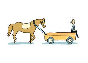 """מקור הביטוי """"לרתום את העגלה לפני הסוסים"""""""